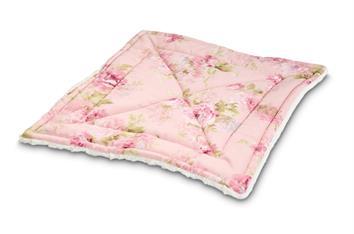 Blumige Rosa Decke 4