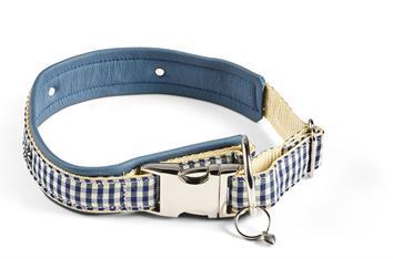 Halsband Lichtenstein blau Gr. 7